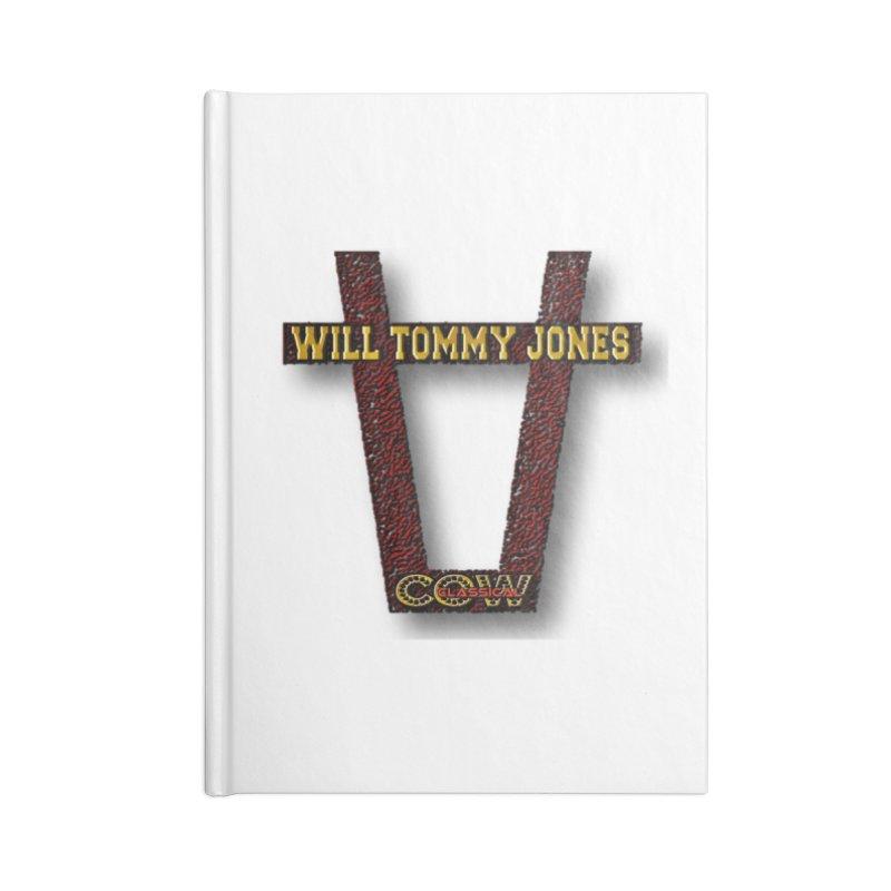Will Logo 2 Accessories Lined Journal Notebook by Will's Buckin' Stuff