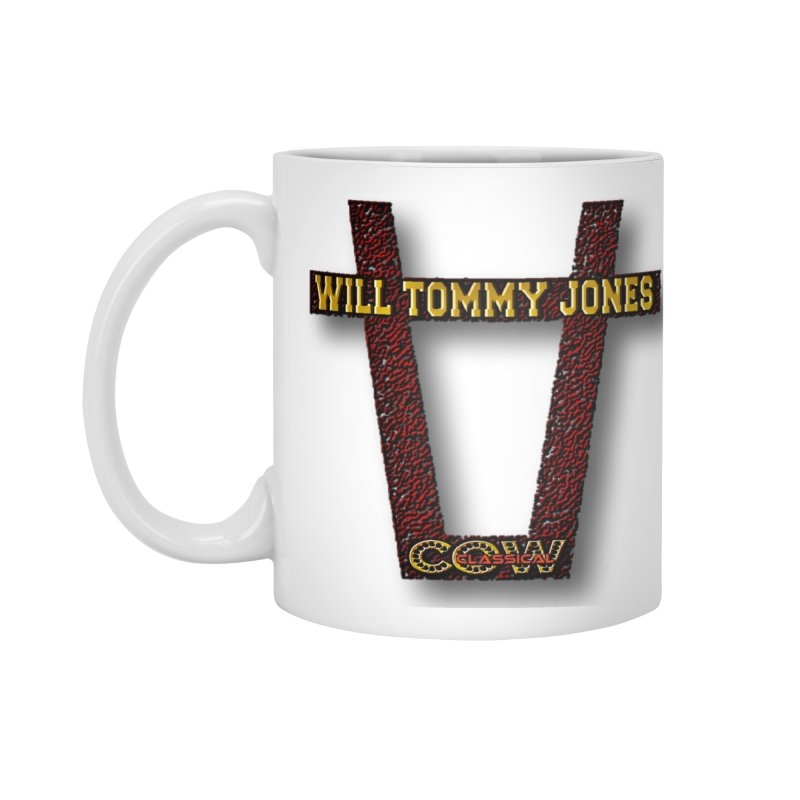 Will Logo 2 Accessories Standard Mug by Will's Buckin' Stuff