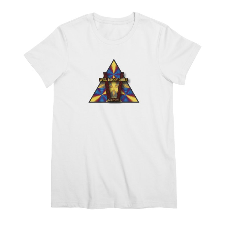logo #3 Women's Premium T-Shirt by Will's Buckin' Stuff