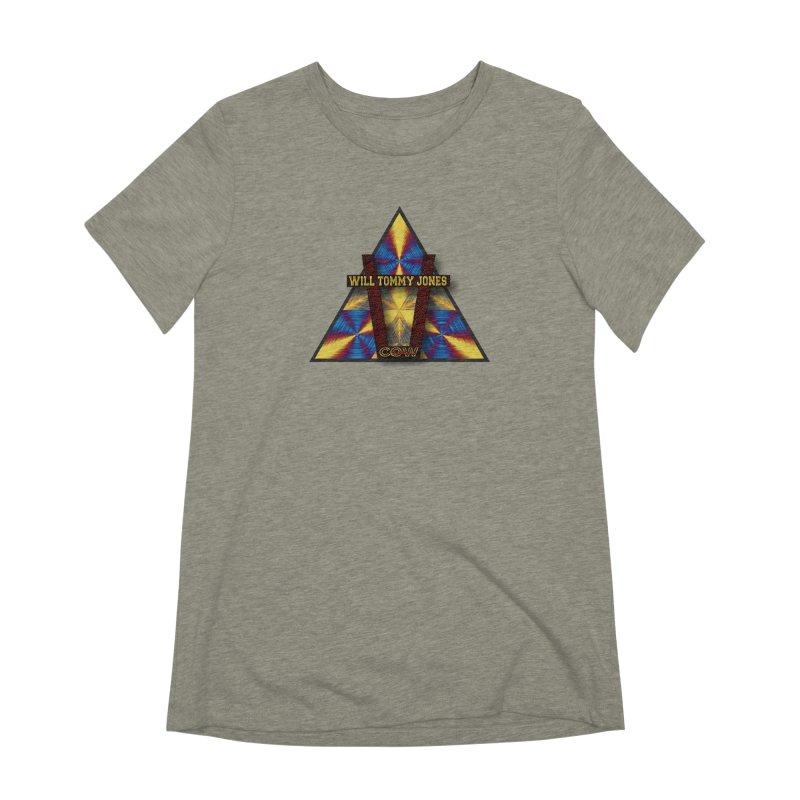 logo #3 Women's Extra Soft T-Shirt by Will's Buckin' Stuff
