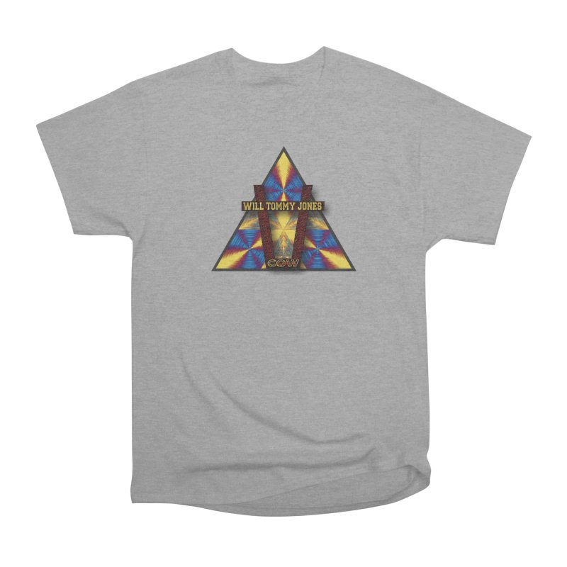 logo #3 Men's Heavyweight T-Shirt by Will's Buckin' Stuff