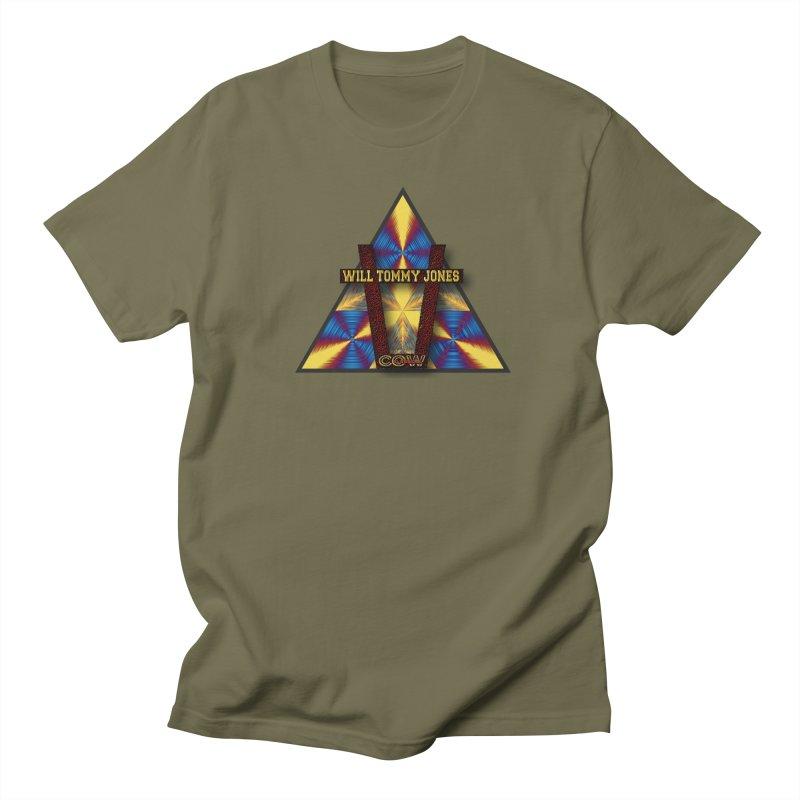 logo #3 Men's Regular T-Shirt by Will's Buckin' Stuff