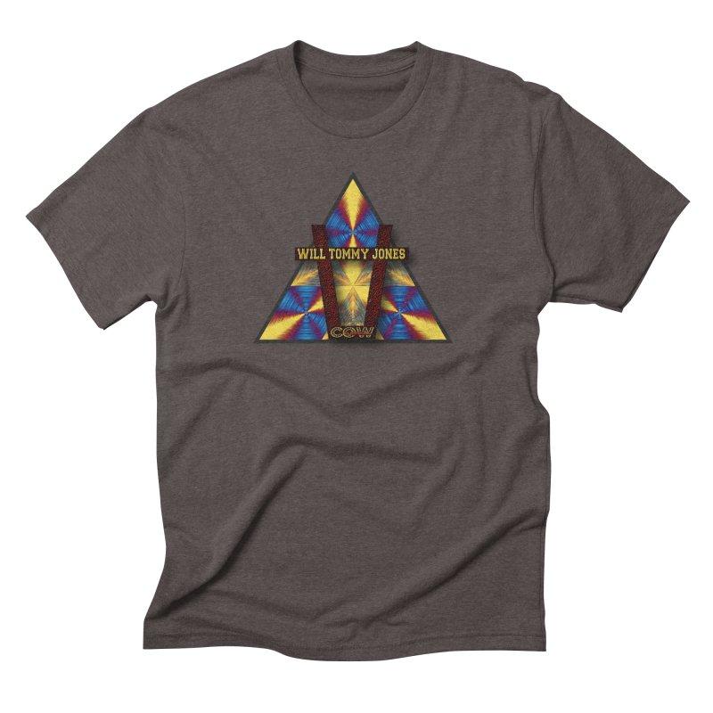 logo #3 Men's Triblend T-Shirt by Will's Buckin' Stuff