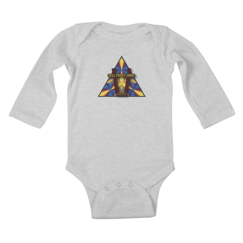logo #3 Kids Baby Longsleeve Bodysuit by Will's Buckin' Stuff