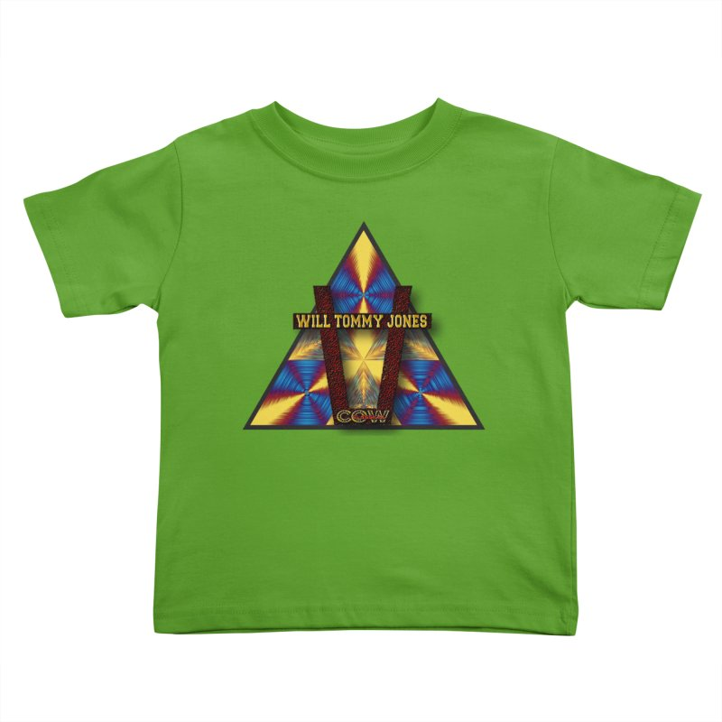 logo #3 Kids Toddler T-Shirt by Will's Buckin' Stuff