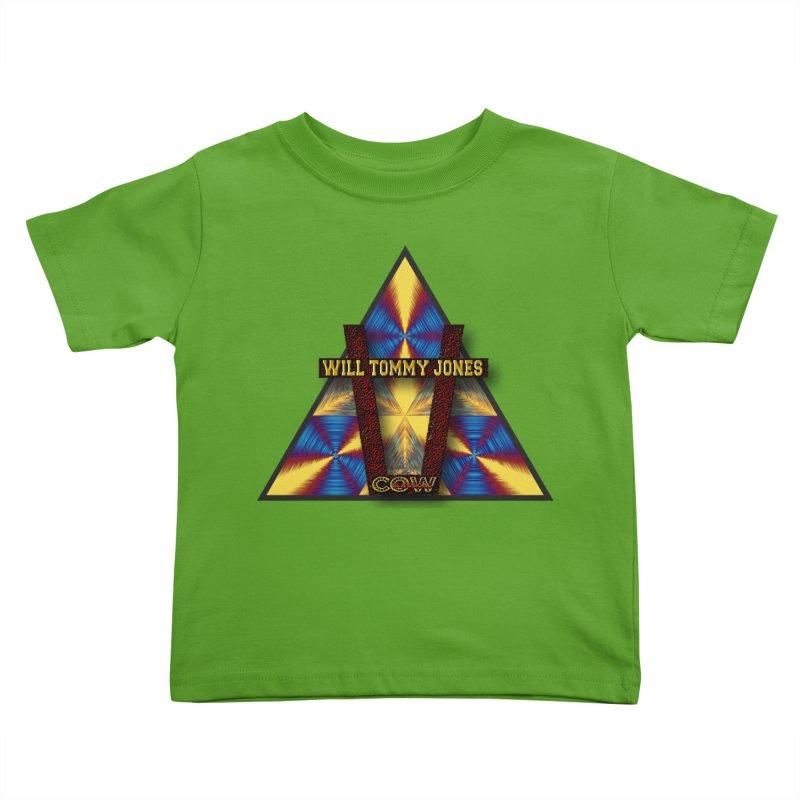 logo #3 Kids Toddler T-Shirt by Will's Buckin' Stuff