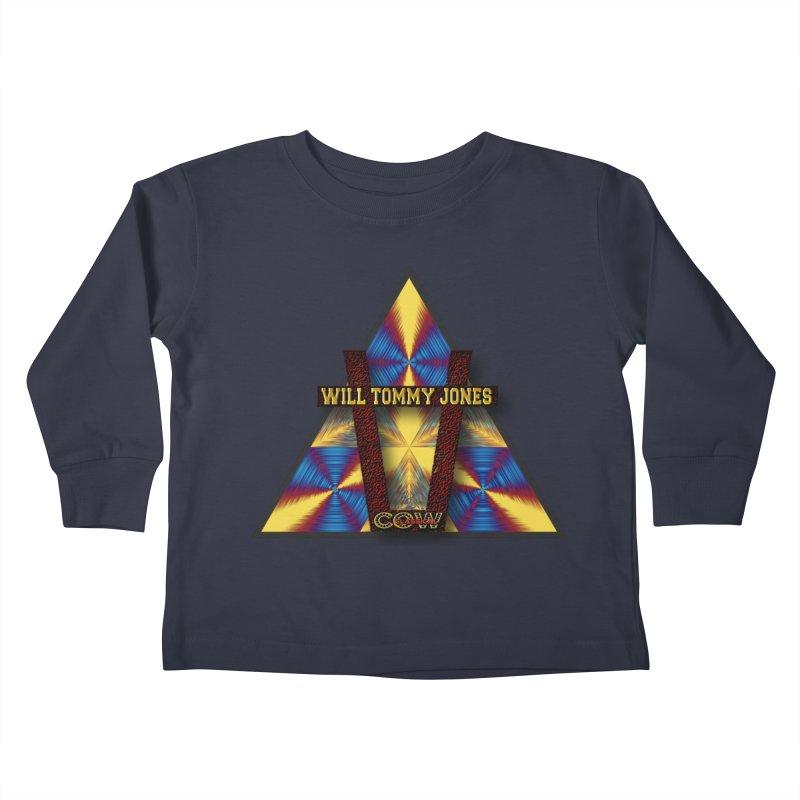 logo #3 Kids Toddler Longsleeve T-Shirt by Will's Buckin' Stuff