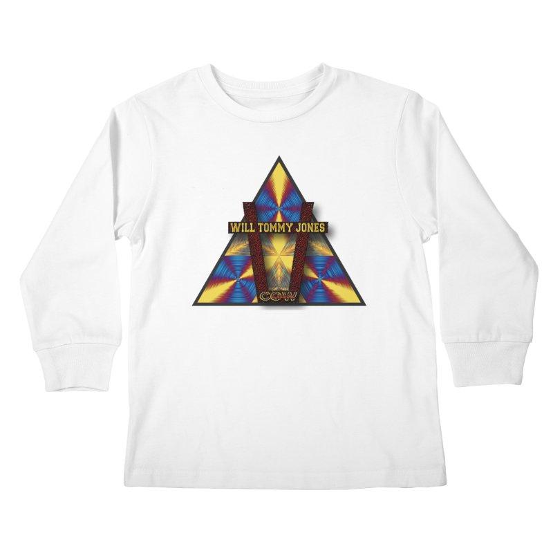 logo #3 Kids Longsleeve T-Shirt by Will's Buckin' Stuff