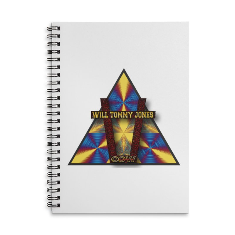 logo #3 Accessories Lined Spiral Notebook by Will's Buckin' Stuff