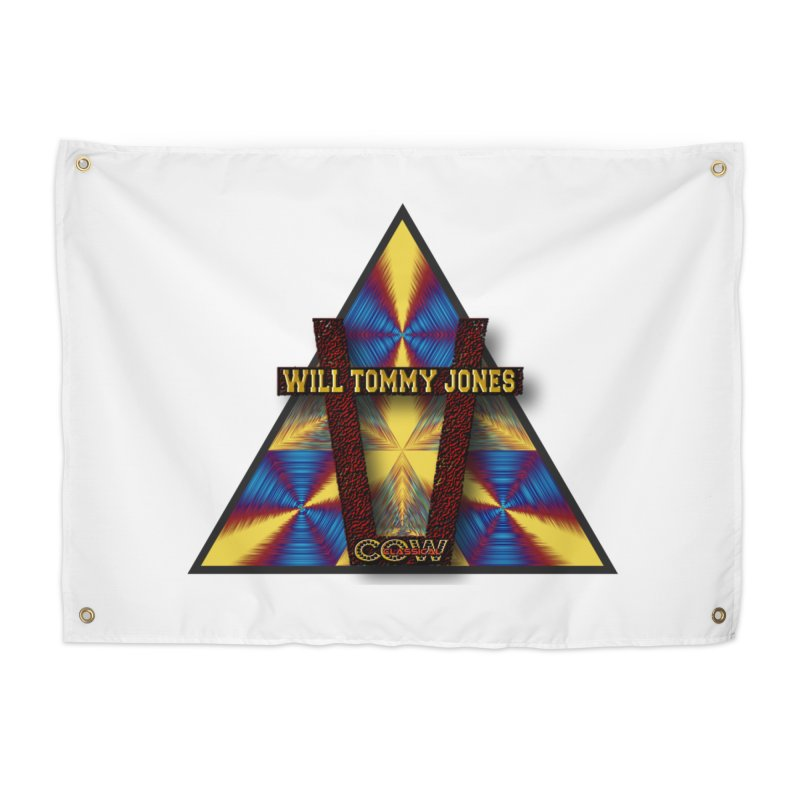logo #3 Home Tapestry by Will's Buckin' Stuff
