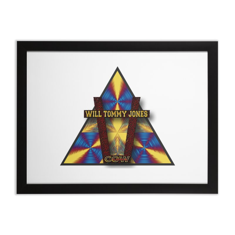 logo #3 Home Framed Fine Art Print by Will's Buckin' Stuff
