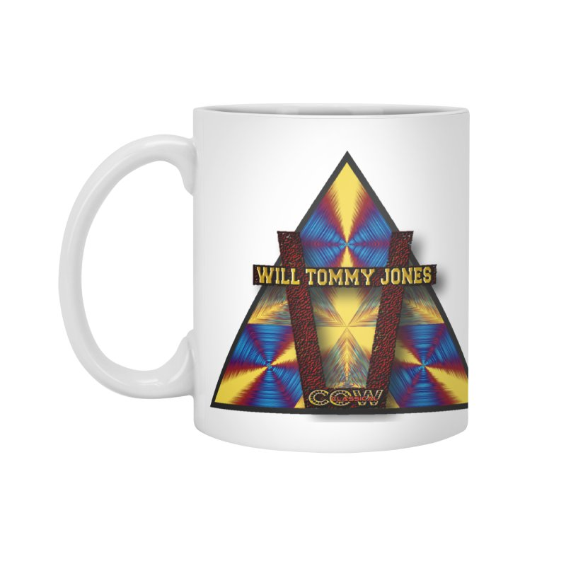 logo #3 Accessories Standard Mug by Will's Buckin' Stuff