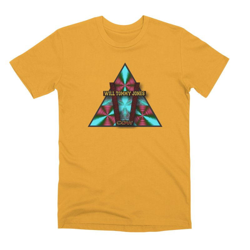 LOGO #4 Men's Premium T-Shirt by Will's Buckin' Stuff