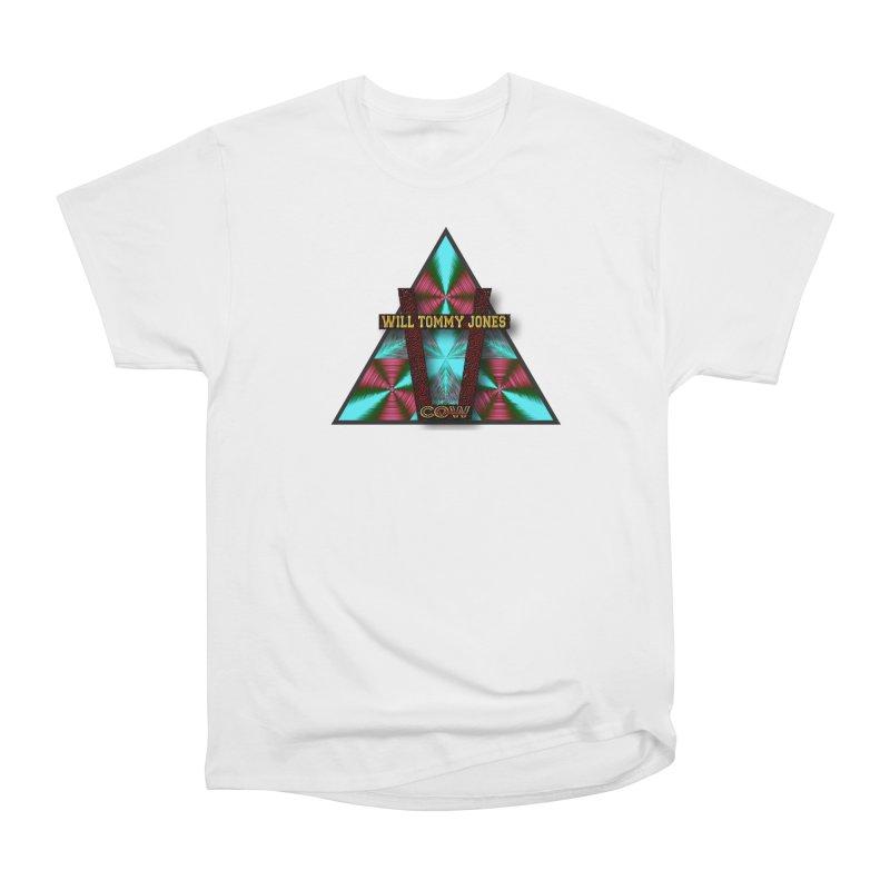 LOGO #4 Men's Heavyweight T-Shirt by Will's Buckin' Stuff