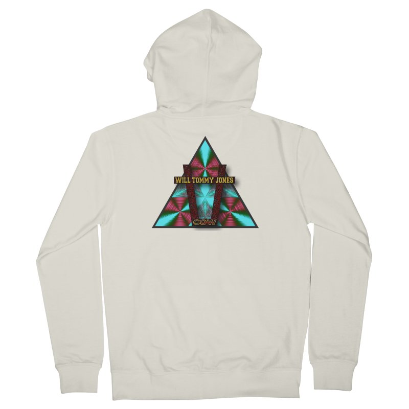 LOGO #4 Women's Zip-Up Hoody by Will's Buckin' Stuff