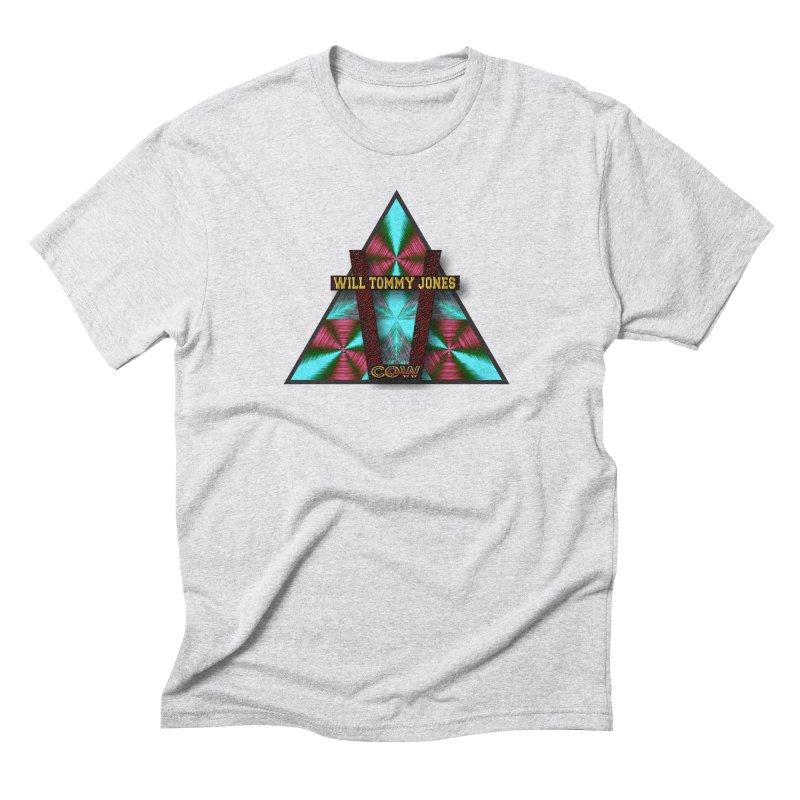 LOGO #4 Men's Triblend T-Shirt by Will's Buckin' Stuff