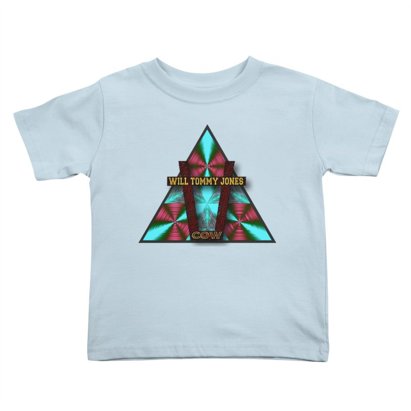 LOGO #4 Kids Toddler T-Shirt by Will's Buckin' Stuff