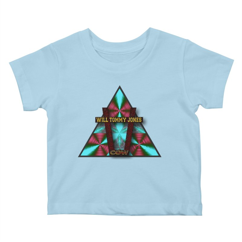 LOGO #4 Kids Baby T-Shirt by Will's Buckin' Stuff