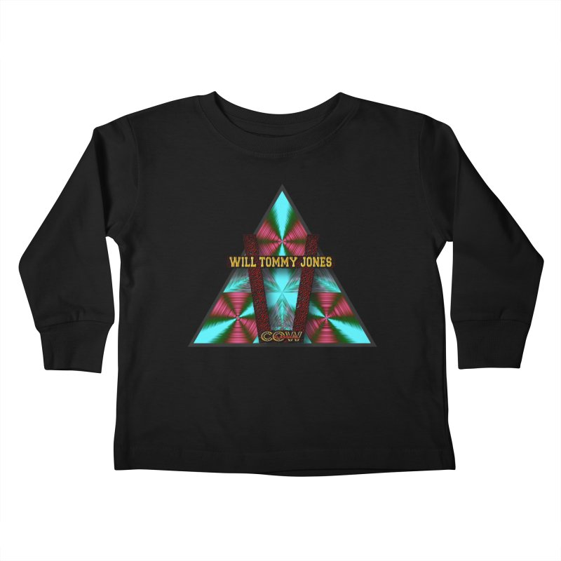 LOGO #4 Kids Toddler Longsleeve T-Shirt by Will's Buckin' Stuff