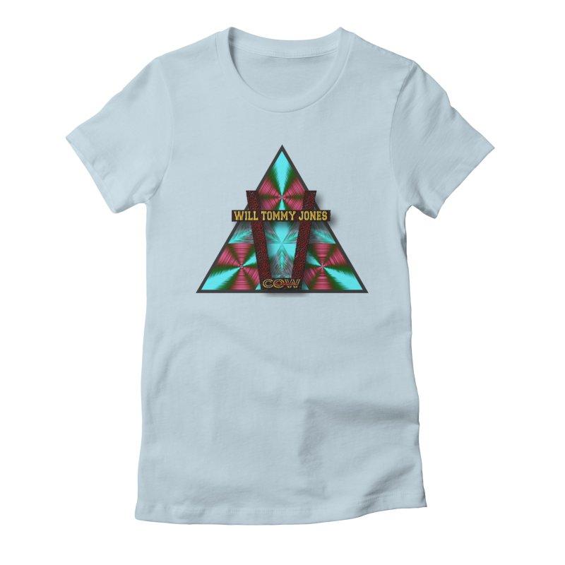 LOGO #4 Women's Fitted T-Shirt by Will's Buckin' Stuff