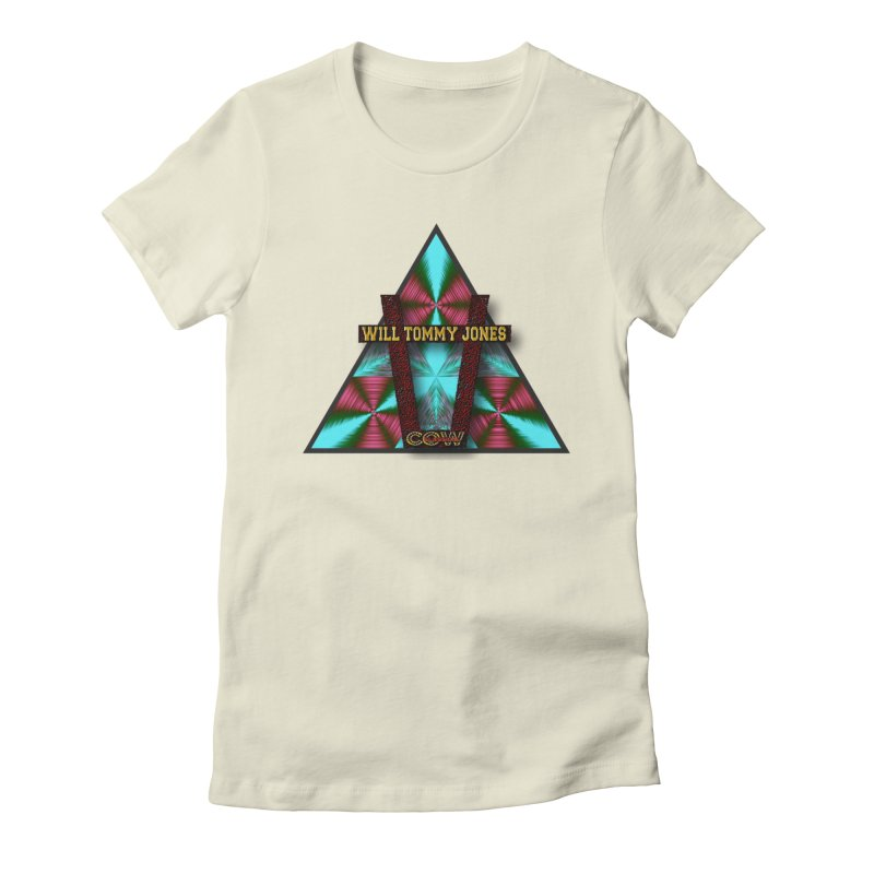 LOGO #4 Women's Fitted T-Shirt by Will's Buckin' Stuff
