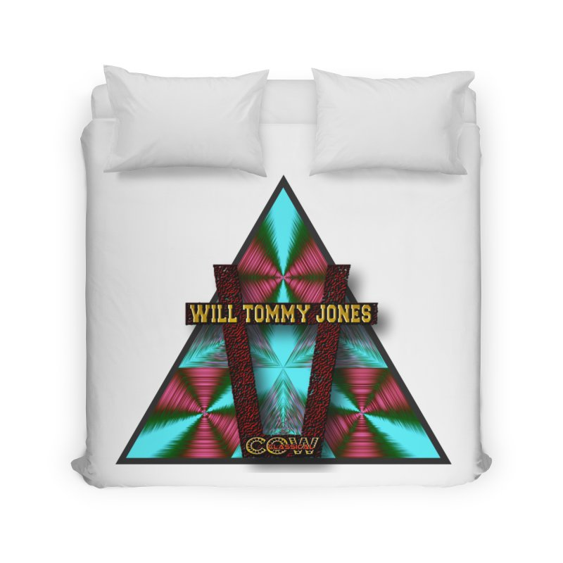 LOGO #4 Home Duvet by Will's Buckin' Stuff