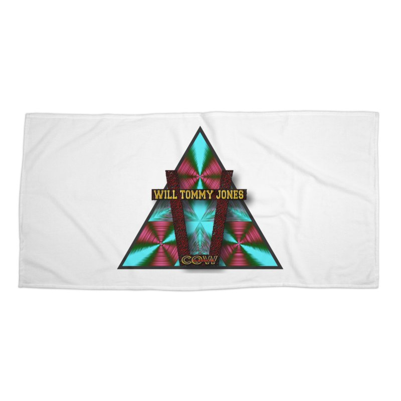 LOGO #4 Accessories Beach Towel by Will's Buckin' Stuff