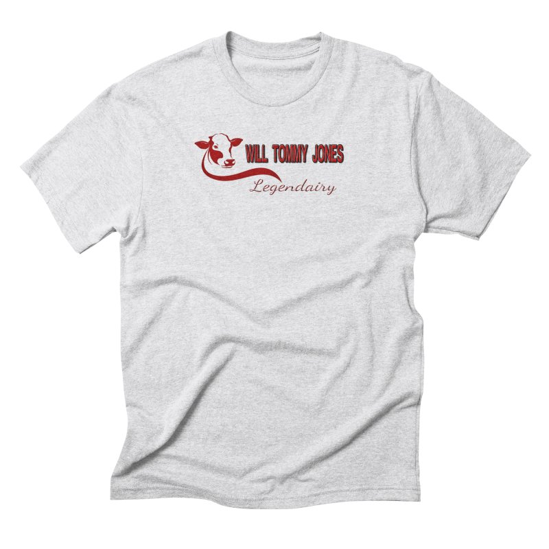 Will's White Tee Men's T-Shirt by Will's Buckin' Stuff