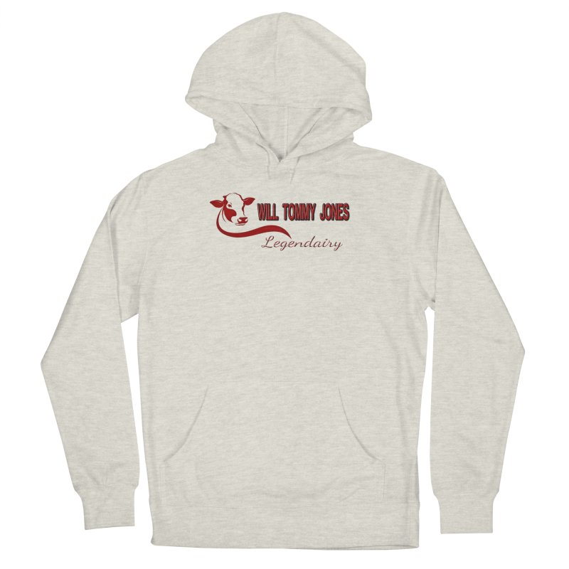 Will's White Tee Men's French Terry Pullover Hoody by Will's Buckin' Stuff