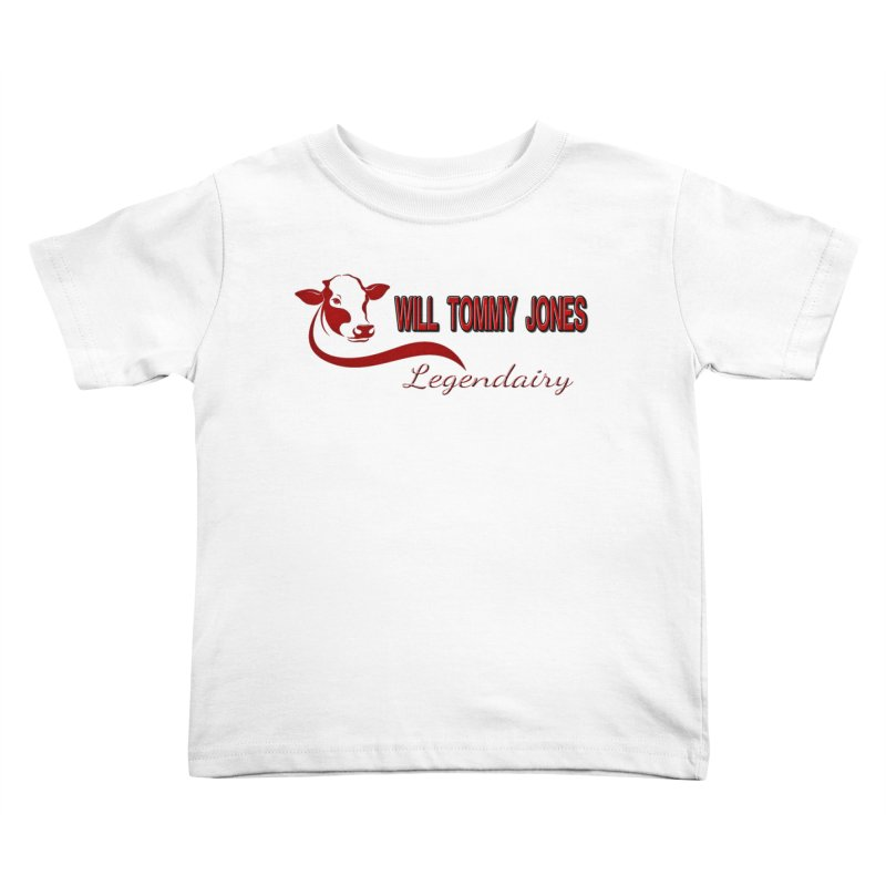 Will's White Tee Kids Toddler T-Shirt by Will's Buckin' Stuff