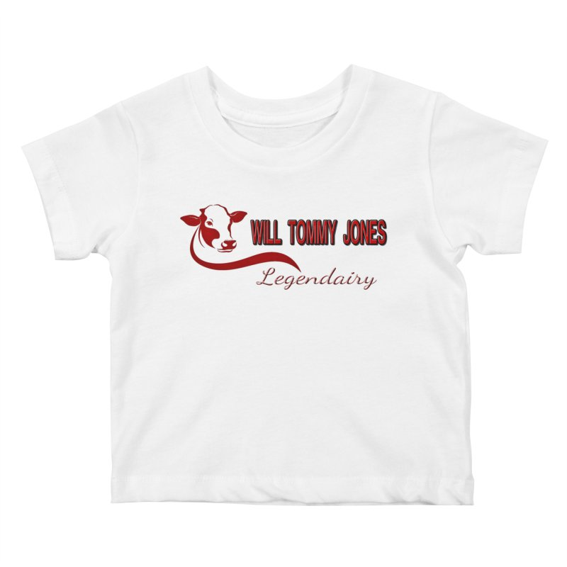 Will's White Tee Kids Baby T-Shirt by Will's Buckin' Stuff