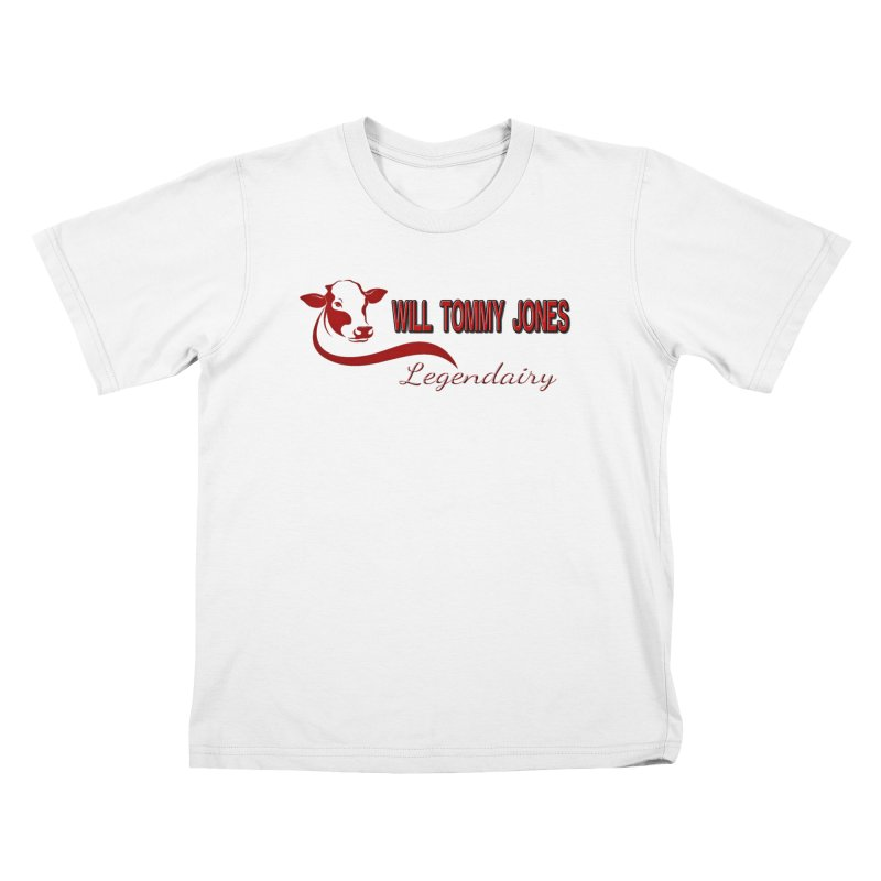 Will's White Tee Kids T-Shirt by Will's Buckin' Stuff
