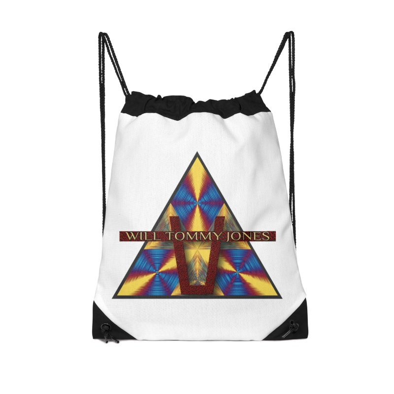 Logo Tee Accessories Drawstring Bag Bag by Will's Buckin' Stuff