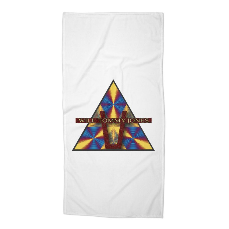 Logo Tee Accessories Beach Towel by Will's Buckin' Stuff
