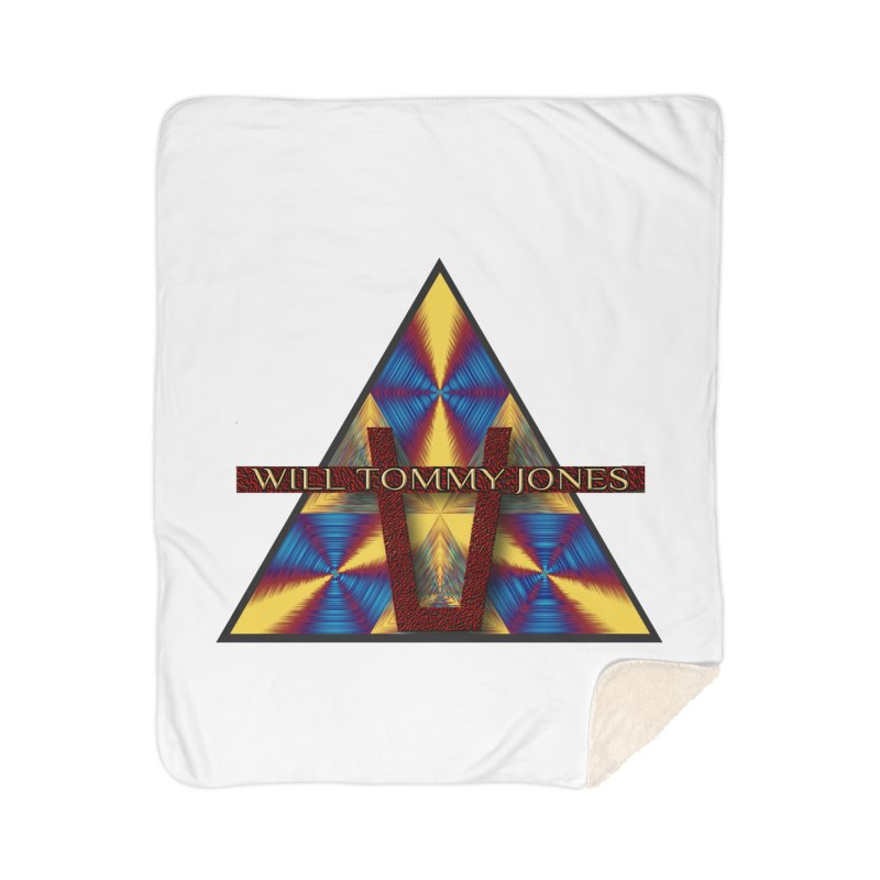Logo Tee Home Blanket by Will's Buckin' Stuff