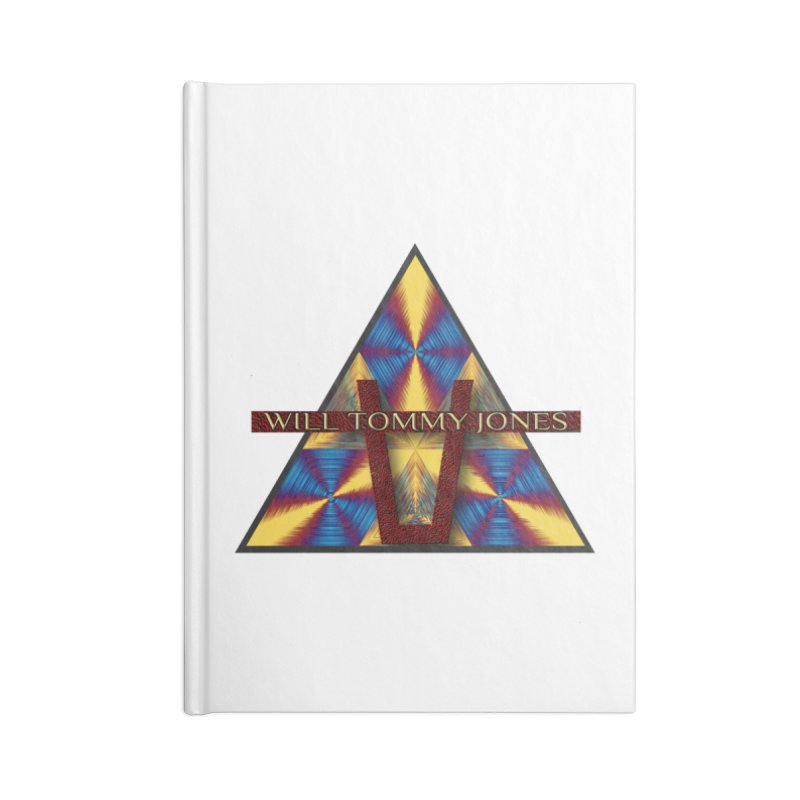 Logo Tee Accessories Blank Journal Notebook by Will's Buckin' Stuff