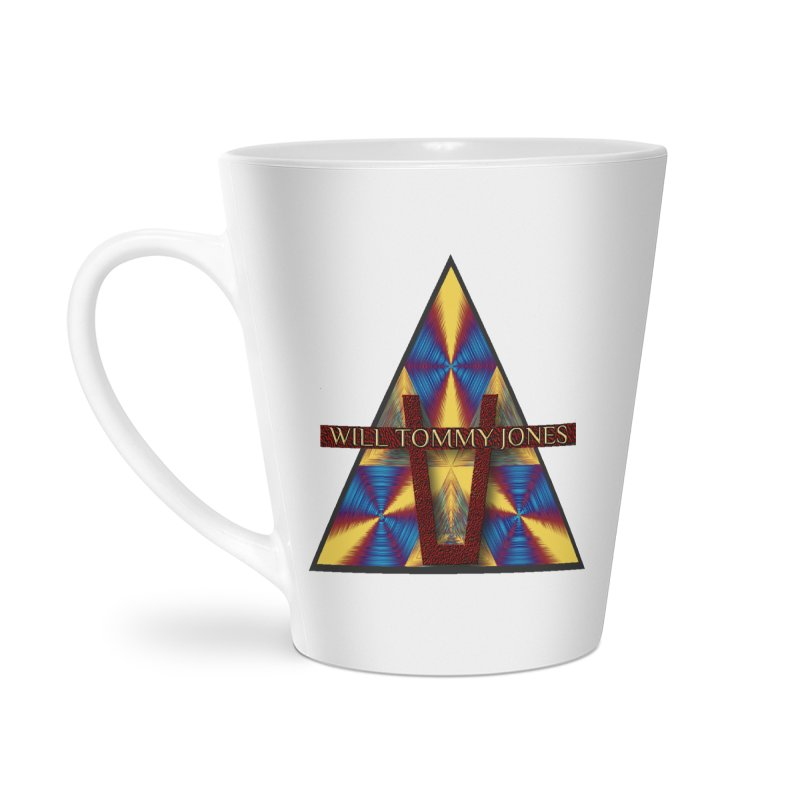 Logo Tee Accessories Latte Mug by Will's Buckin' Stuff