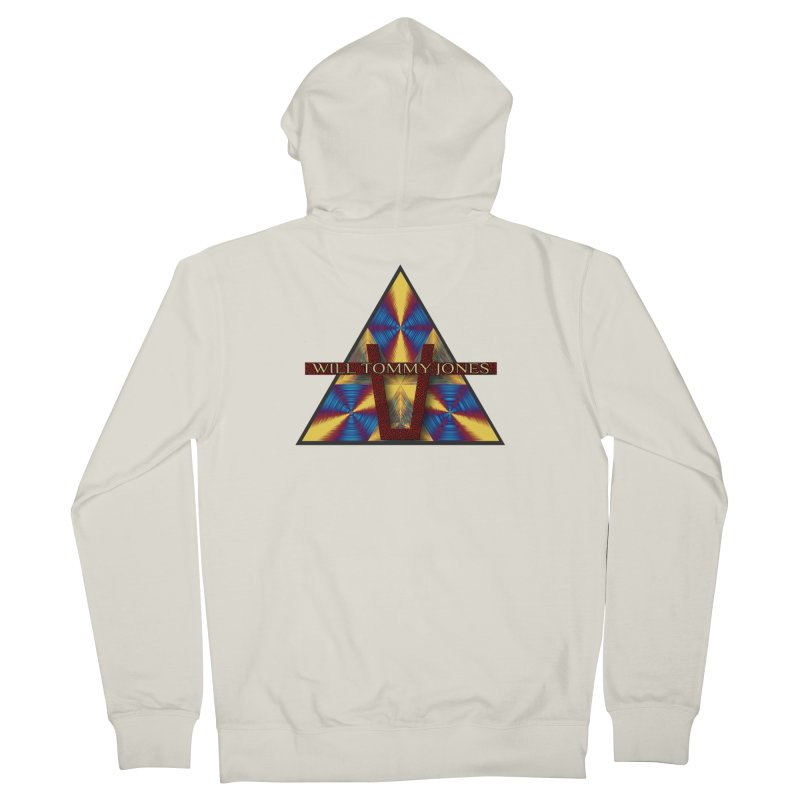 Logo Tee Men's Zip-Up Hoody by Will's Buckin' Stuff