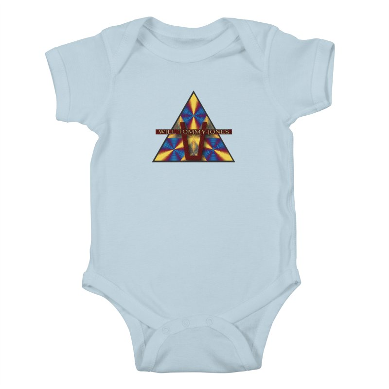 Logo Tee Kids Baby Bodysuit by Will's Buckin' Stuff