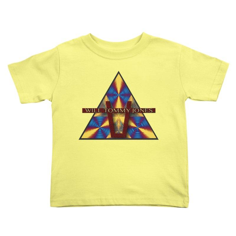 Logo Tee Kids Toddler T-Shirt by Will's Buckin' Stuff