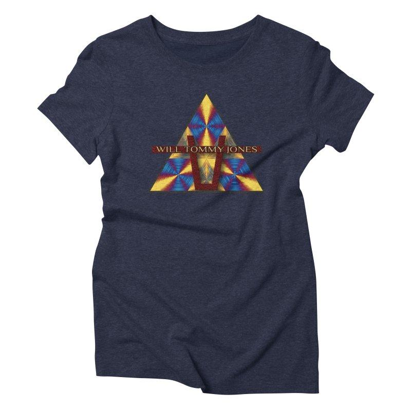 Logo Tee Women's Triblend T-Shirt by Will's Buckin' Stuff