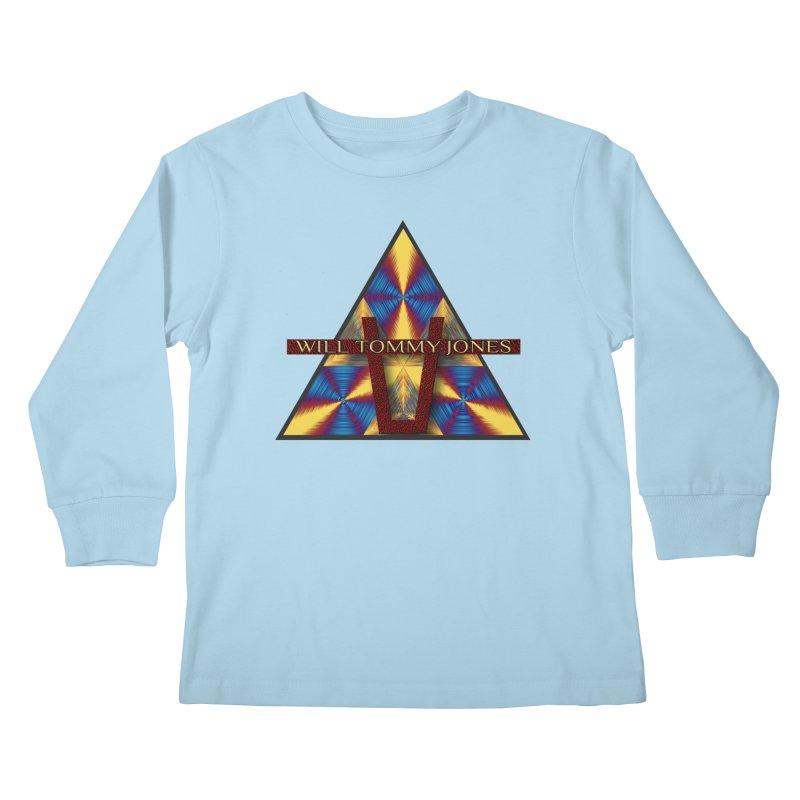 Logo Tee Kids Longsleeve T-Shirt by Will's Buckin' Stuff