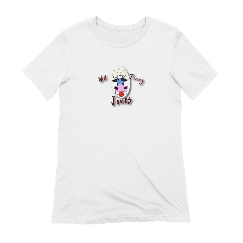 Nutty Cow Tee Women's Extra Soft T-Shirt by Will's Buckin' Stuff