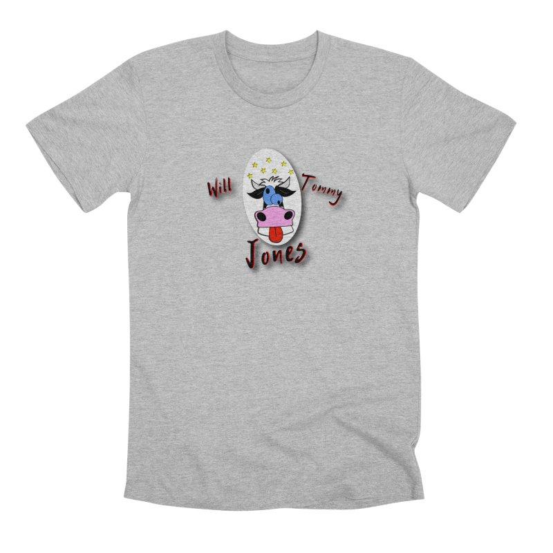 Nutty Cow Tee Men's Premium T-Shirt by Will's Buckin' Stuff