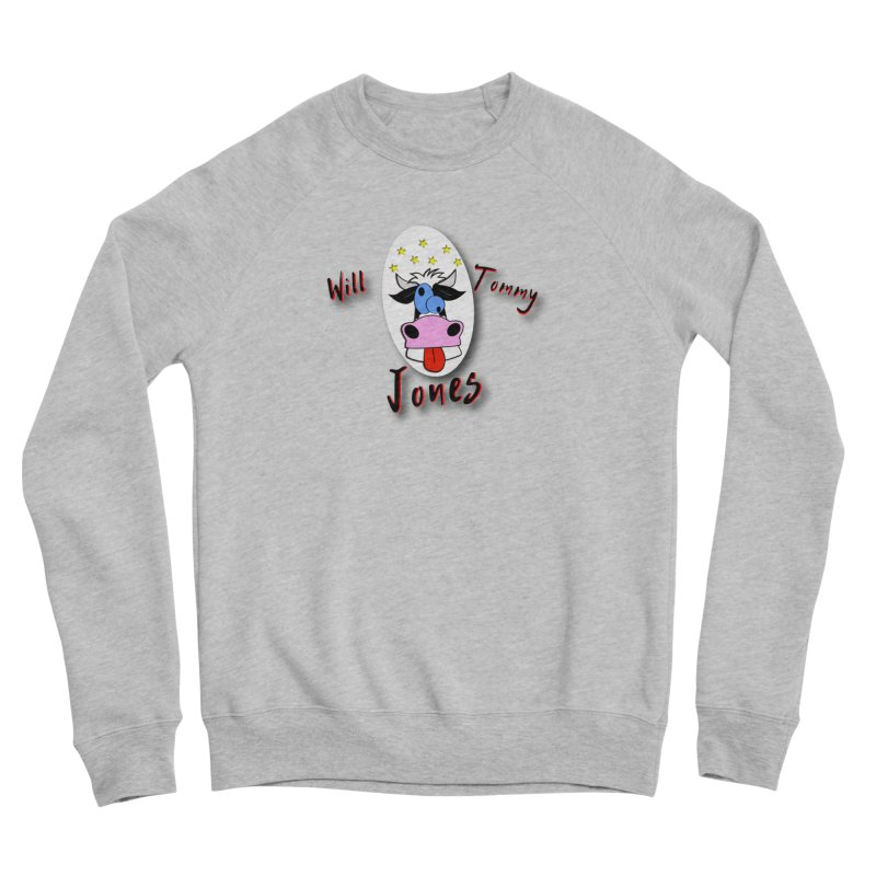 Nutty Cow Tee Men's Sponge Fleece Sweatshirt by Will's Buckin' Stuff