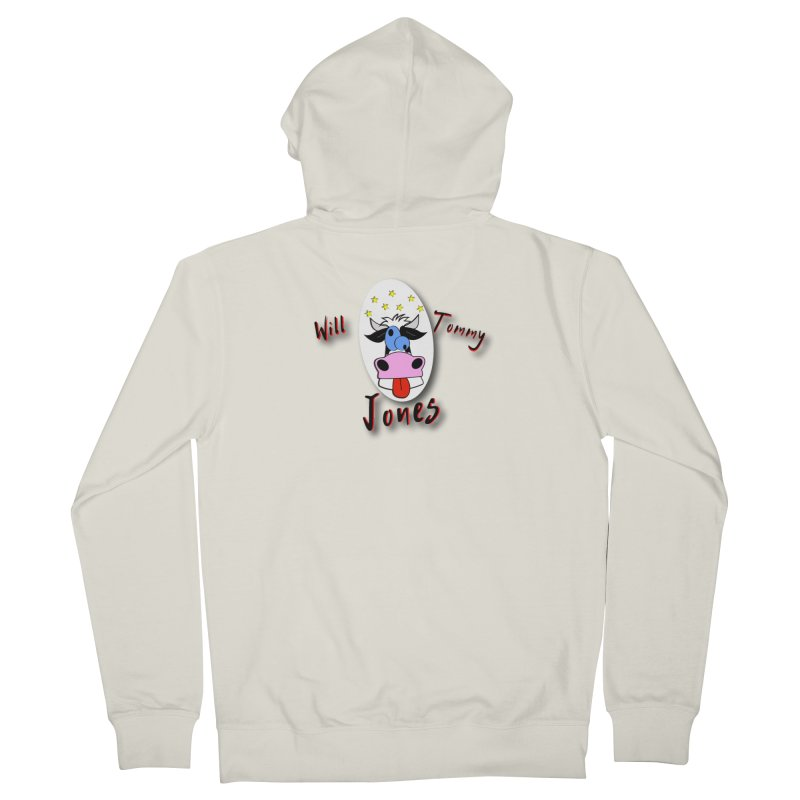 Nutty Cow Tee Men's Zip-Up Hoody by Will's Buckin' Stuff