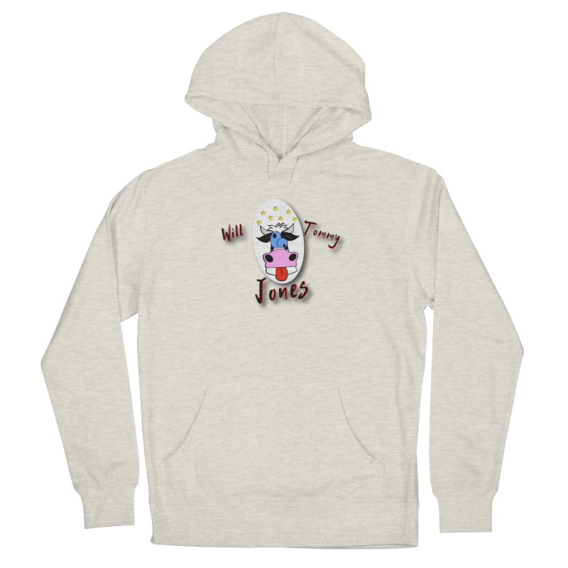 Nutty Cow Tee Men's French Terry Pullover Hoody by Will's Buckin' Stuff