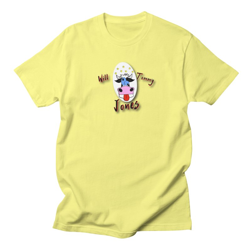 Nutty Cow Tee Men's T-Shirt by Will's Buckin' Stuff