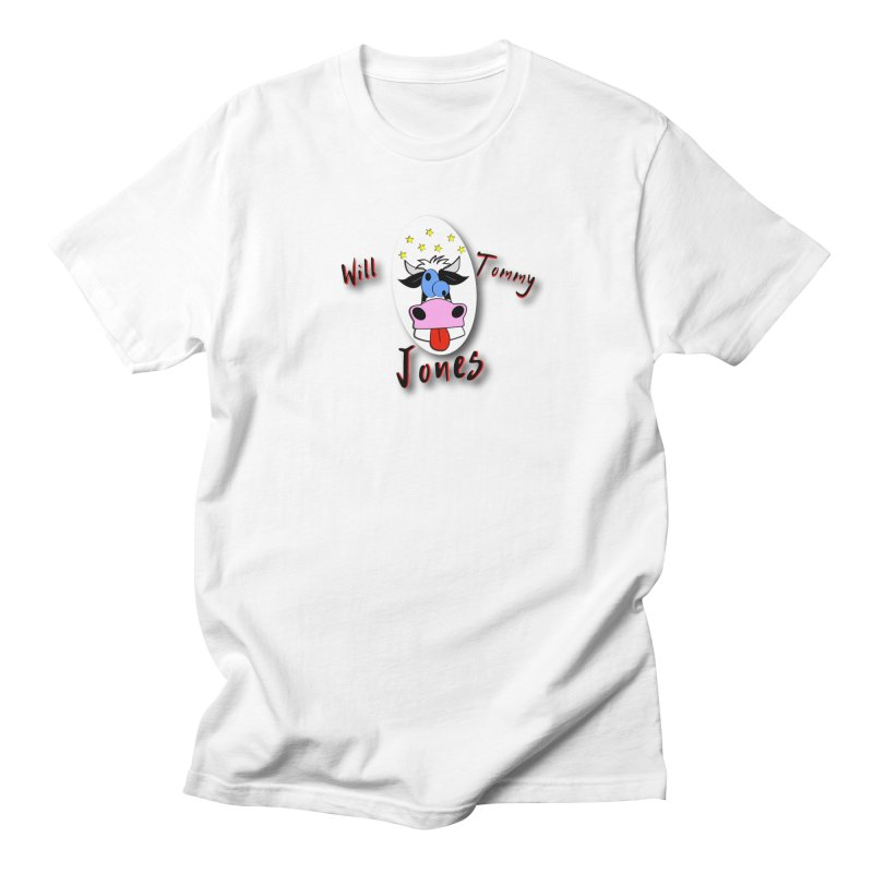 Nutty Cow Tee Men's Regular T-Shirt by Will's Buckin' Stuff