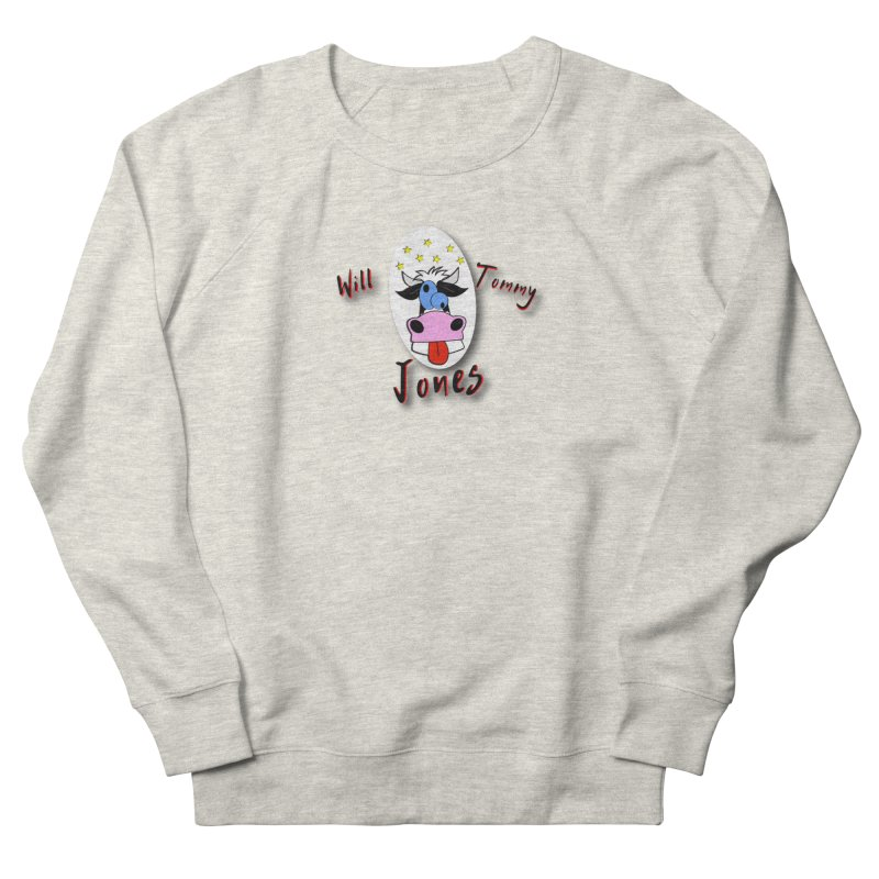 Nutty Cow Tee Men's French Terry Sweatshirt by Will's Buckin' Stuff